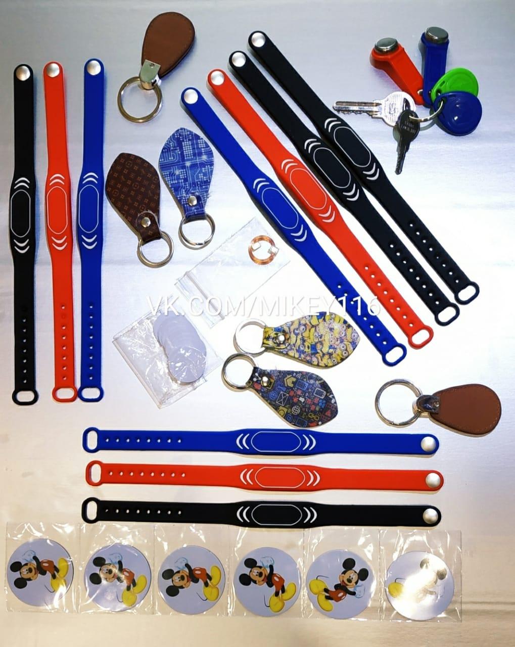 Изготовление дубликатов домофонных ключей.